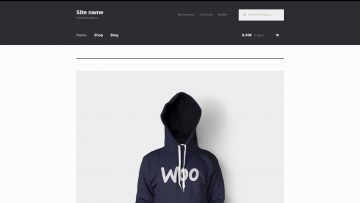 Basic WordPress Online Store screenshoot